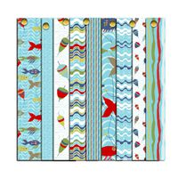 tissu collection motif poisson