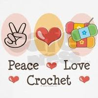 peace love crochet