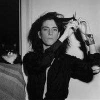 Patti and the cat