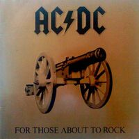AC-DC - For those about to rock 33T