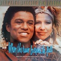 Jermaine Jackson & Pia Zadora - When the rain begins to fal