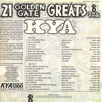 album Various-Artists-KYA-21-Golden-Gate-Greats-Vol-2verso