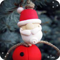 Scrap Ines Boules déco sapin Noël fimo bonhomme -copie-6