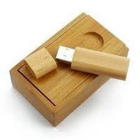 clé usb en bambou personnalisable