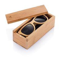lunettes de soleil ecologique bambou publicite