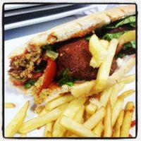 Sandwich falafel (végétalien) Les Délices du Capitole -