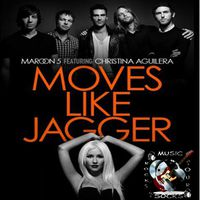 Maroon 5 ft Christina Agulera - Moves Like Jagger (1080p)