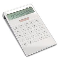 calculatrice publicitaire blanche tampographie 13