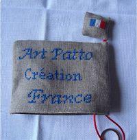 Art Patto porte-clés