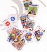 jeu de 7 familles publicitaire a themes