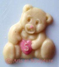 cuisine créative, dessert de fête nounours personnalisé - Arts et Sculpture: sculptrice sur bois