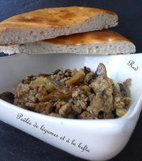 poêlée de légumes et à la kefta3