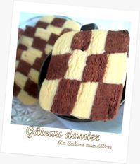 Gateau damier photo 5