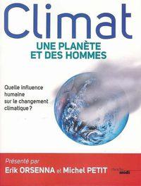 Couverture Climat une planete et des hommes