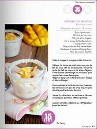 Yummy Verrine Mangue Coco