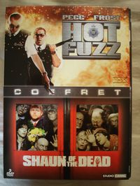 dvd pegg frost shaun of the dead hot fuzz