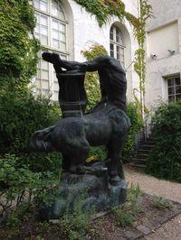 Le jardin du Musée départemental Maurice Denis à saint germain en laye (78100) 1