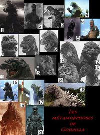 godzilla evolutions