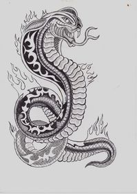 Flamme dessin pictures to pin on pinterest tattooskid for Oif tattoo designs