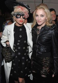 Lady Gaga, Gwen Stefani and Madonna are distance cousins