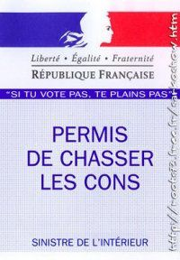 chasser les cons