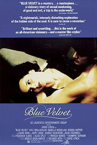 Affiche de Blue Velvet (David Lynch, 1986)