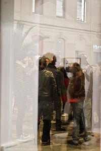 Bernardet-Art-Nimes-vernissage-Loubat-Pointtopoint-studio