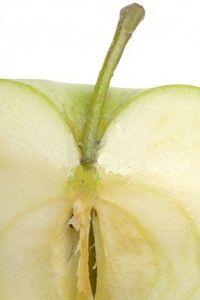 pomme coupee