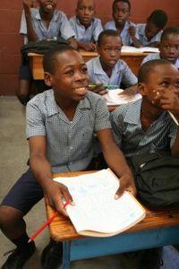 haiti école Isidore Boisrond