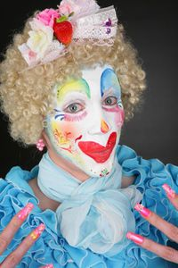 Clown - Isabelle Jeudy