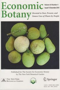 Economic Botany Cover
