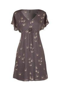 robe imprimé oiseaux nafnaf 59.90