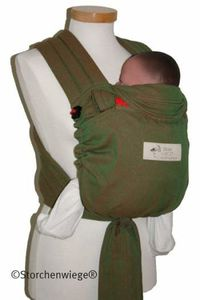 storchenwiege-babycarrier-green