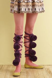 Carnelian Pom-Pom Leg Fancies-copie-1