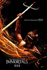 Immortals - Kellan Lutz as Poseidon on poster