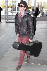 Jackson Rathbone Catching Flight Vancouver Airport