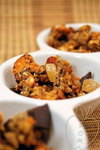Granola de jengibre chocolate y naranja (7)
