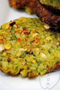 Tortitas de copos de arroz y de garbanzos (8)