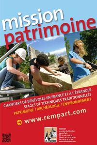 Affiche REMPART 2011