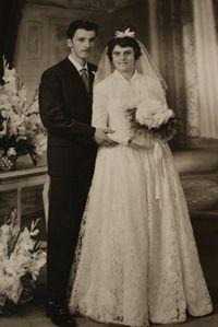 016-Alette et Joseph Routier-Liévin 30 Juillet 1960