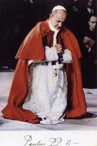 le Pape Paul VI