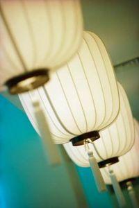 lumiere lanterne déco de salle de mariage