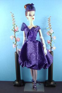 2009 Parisienne Pretty Silkstone Collection No-N6594-1