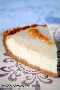 Cheesecake Poire Trio 2a