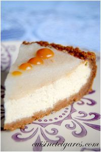 Cheesecake Poire Trio 2c