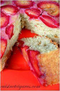 Gâteau Renversé aux Prunes Duo 2