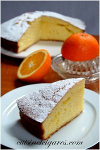 Gâteau à l'Orange Trio 30
