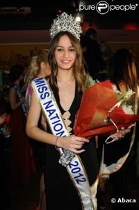Alicia Santos miss nnale historique 2012