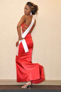Tatiana Fetgo miss Africa in the Usa Cameroun