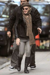 Madonna at the Kabbalah centre in New York - November 20, 2010